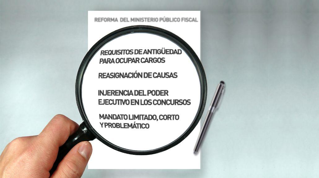 Claves para comprender la controversia por la reforma del Ministerio Público Fiscal