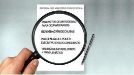 Los puntos más críticos del proyecto de reforma del Ministerio Público Fiscal