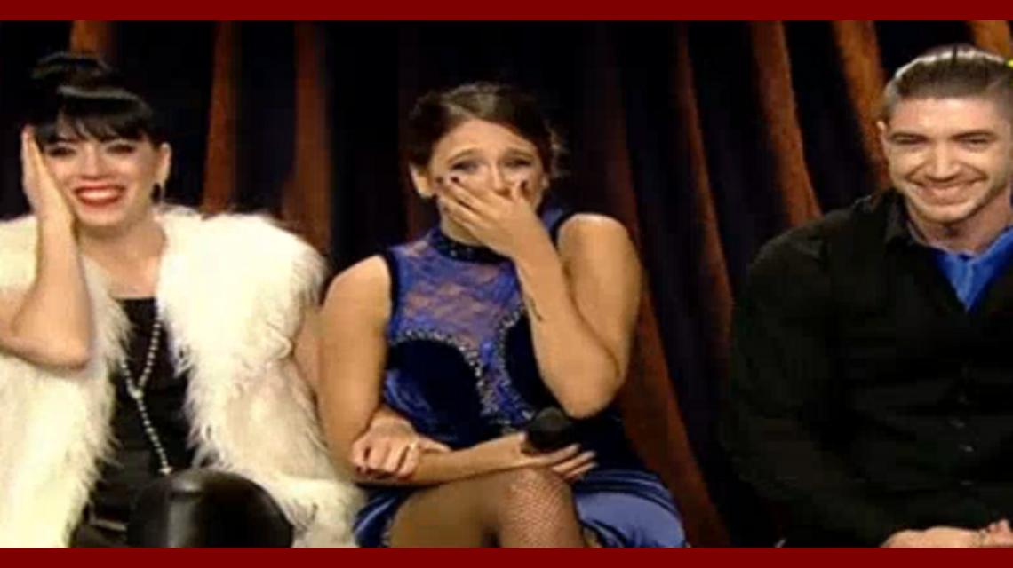La perlita de Barbie Vélez durante la transmisión del Bailando.
