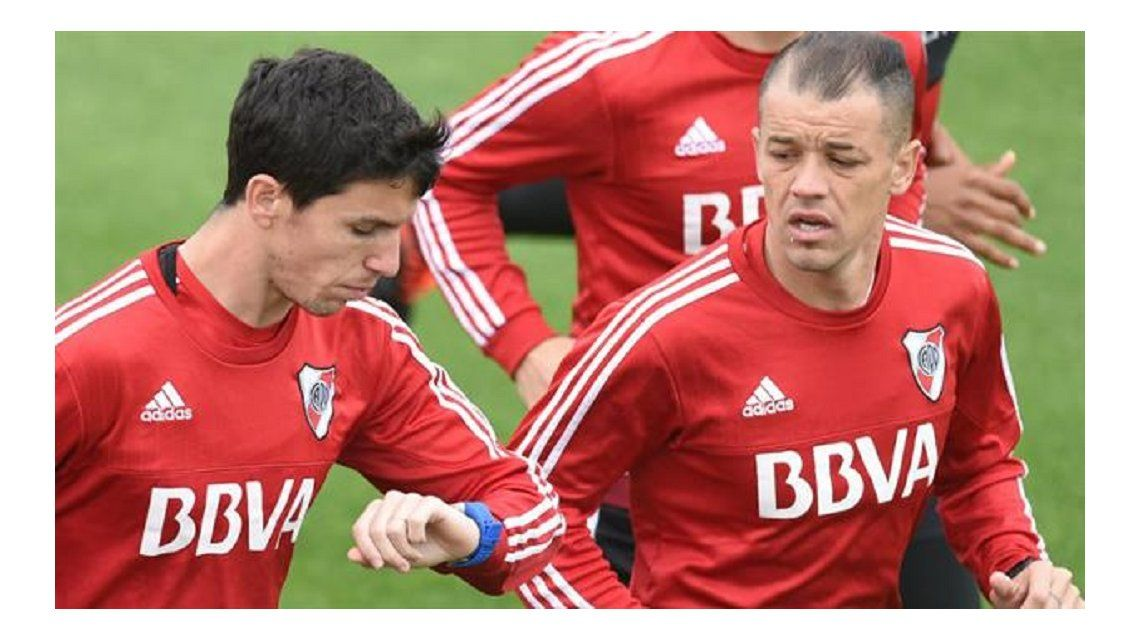 Andrés D´Alessandro y Nacho Fernández quedaron descartados para el choque de River ante Unión por los cuartos de final de la Copa Argentina