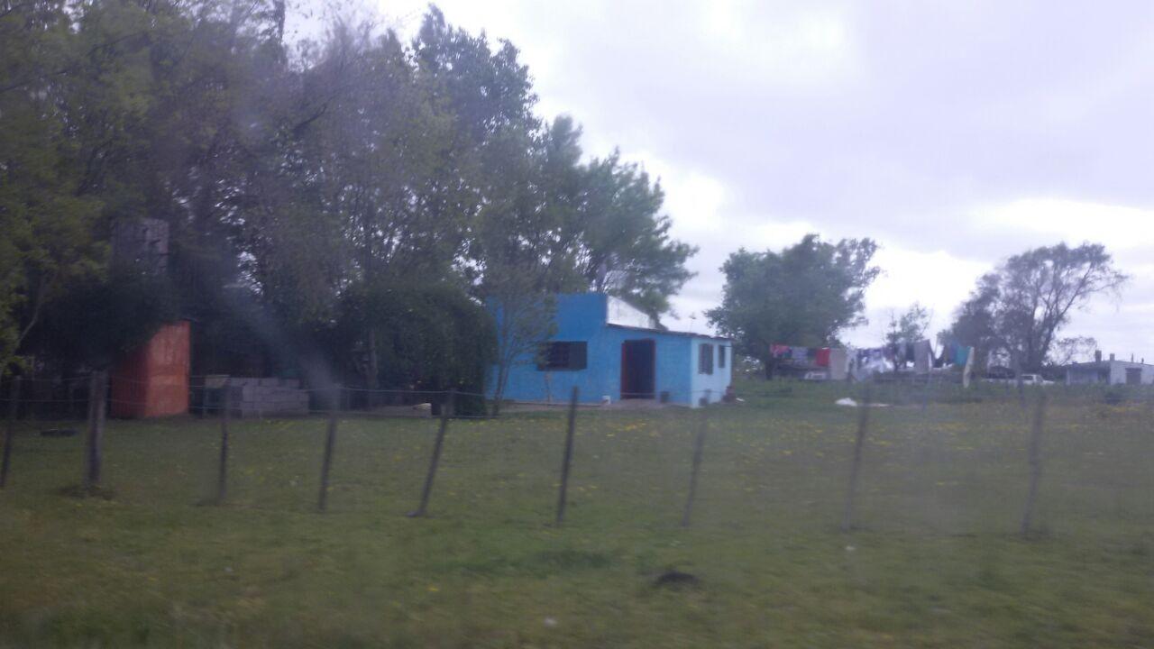 La casa donde Alfredo Antonio Sandoval vivía y fue detenido en Olavarría.