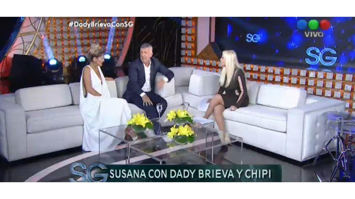 La anécdota de Dady Brieva en el living de Susana