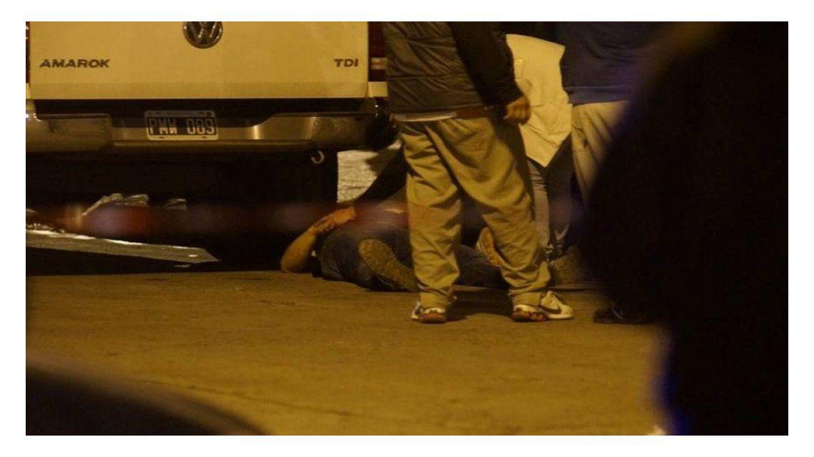 Policía asesinado en Isidro Casanova.