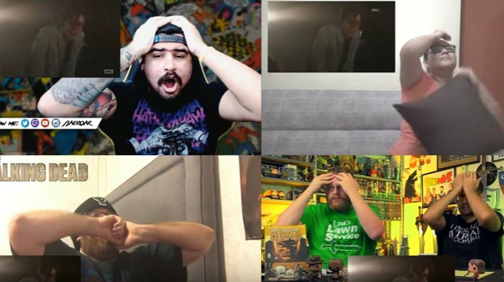 La reacción de los fans de TWD.