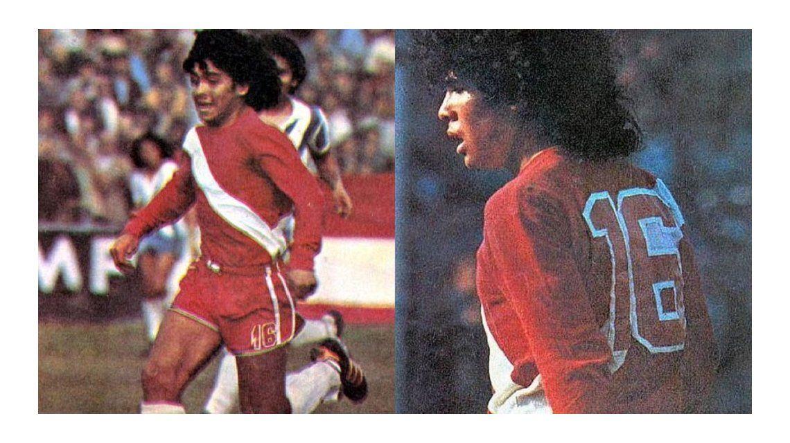 Se cumplen 40 años del debut de Diego Armando Maradona en Argentinos Juniors