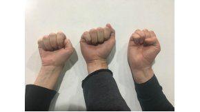 La manera en la que cerrás tu puño indica cómo es tu personalidad