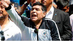 El cumpleaños especial de Diego Maradona.