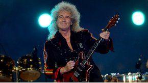Brian May, complicado de salud.