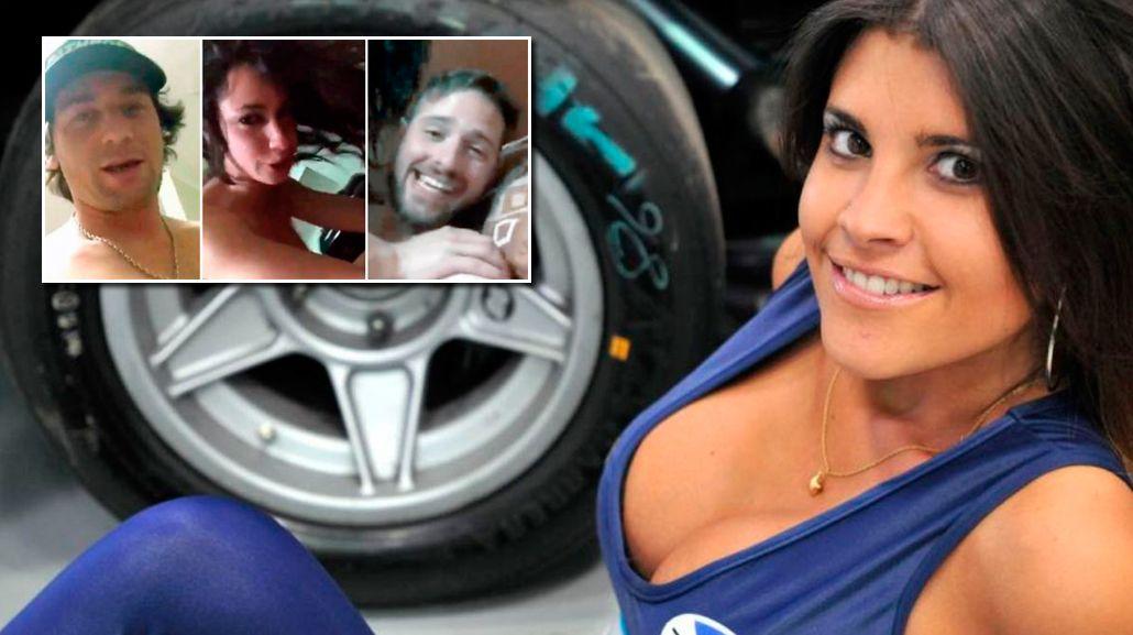 Flor Zaccanti habló de los videos hot de los pilotos.