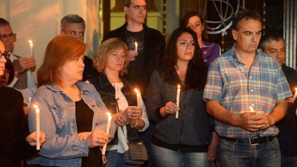 Amigos y compañeros de trabajo de dos de las víctimas de la masacre de Mendoza pidieron justicia