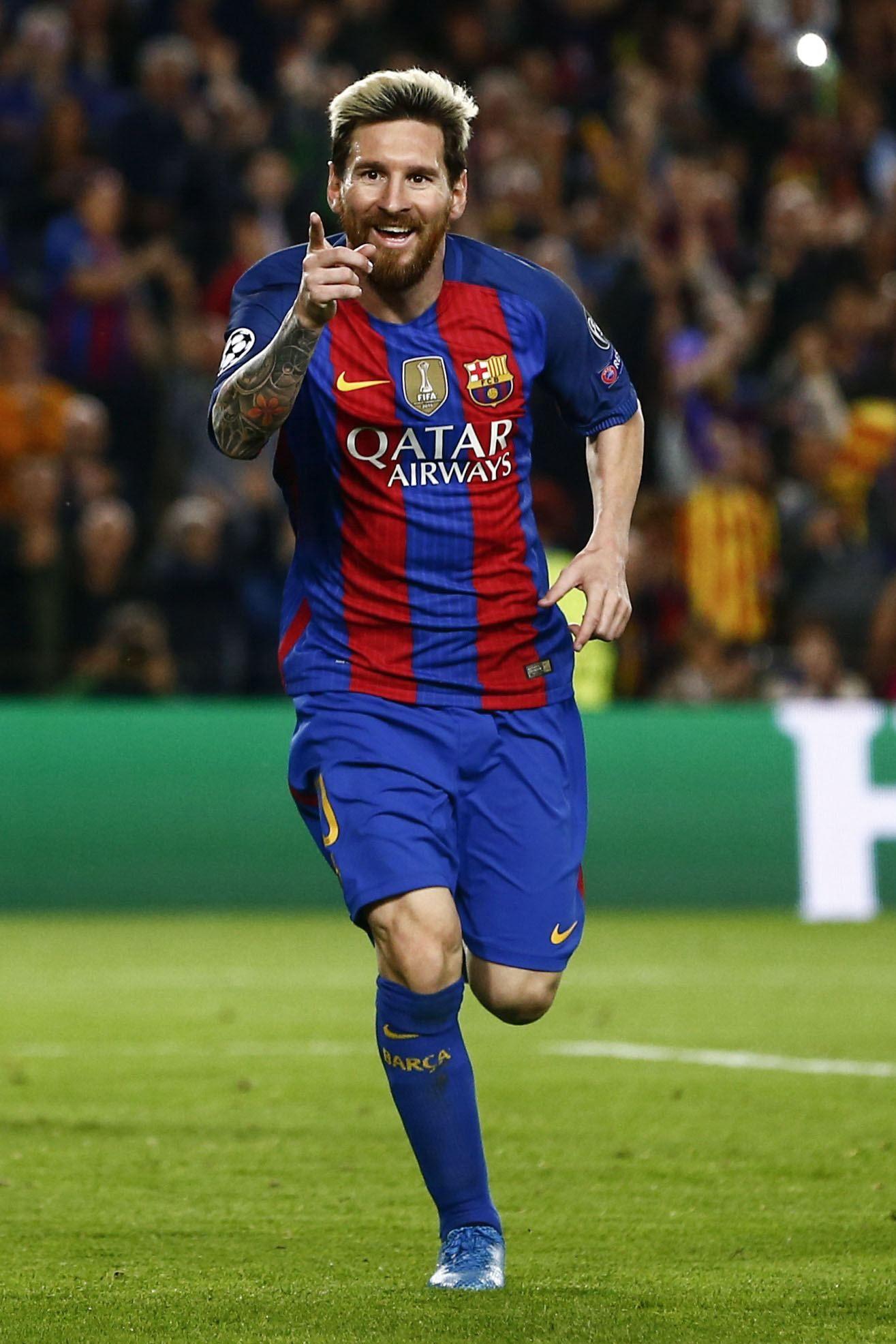 Messi ganó el premio al mejor goleador de la Liga Santander