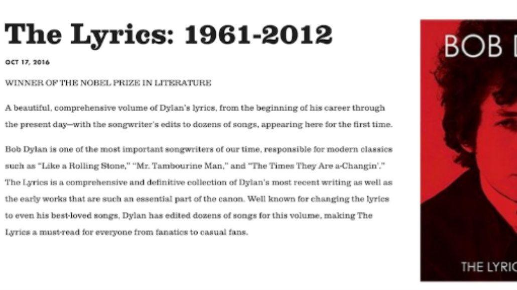 ¿Bob Dylan acepta ser Nobel o no?