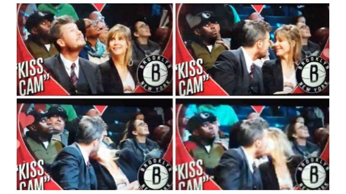 Llegó la Kiss Cam a Showmatch.