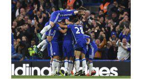 El Chelsea goleó por 4 a 0 al Machester United en Stamford Bridge.