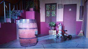 Réplica de la vecindad de El Chavo del 8, en Tucumán. Gentileza de La Gaceta