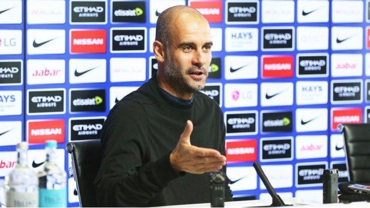 El entrenador del City dejó claro que no va a cambiar su forma de jugar y dijo que necesita tiempo.