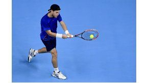 Schwartzman cayó ante Gasquet en la final del ATP 250 de Amberes.