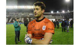 Alexis Martín Arias, el arquero de Gimnasia, fue figura ante Racing por Copa Argentina