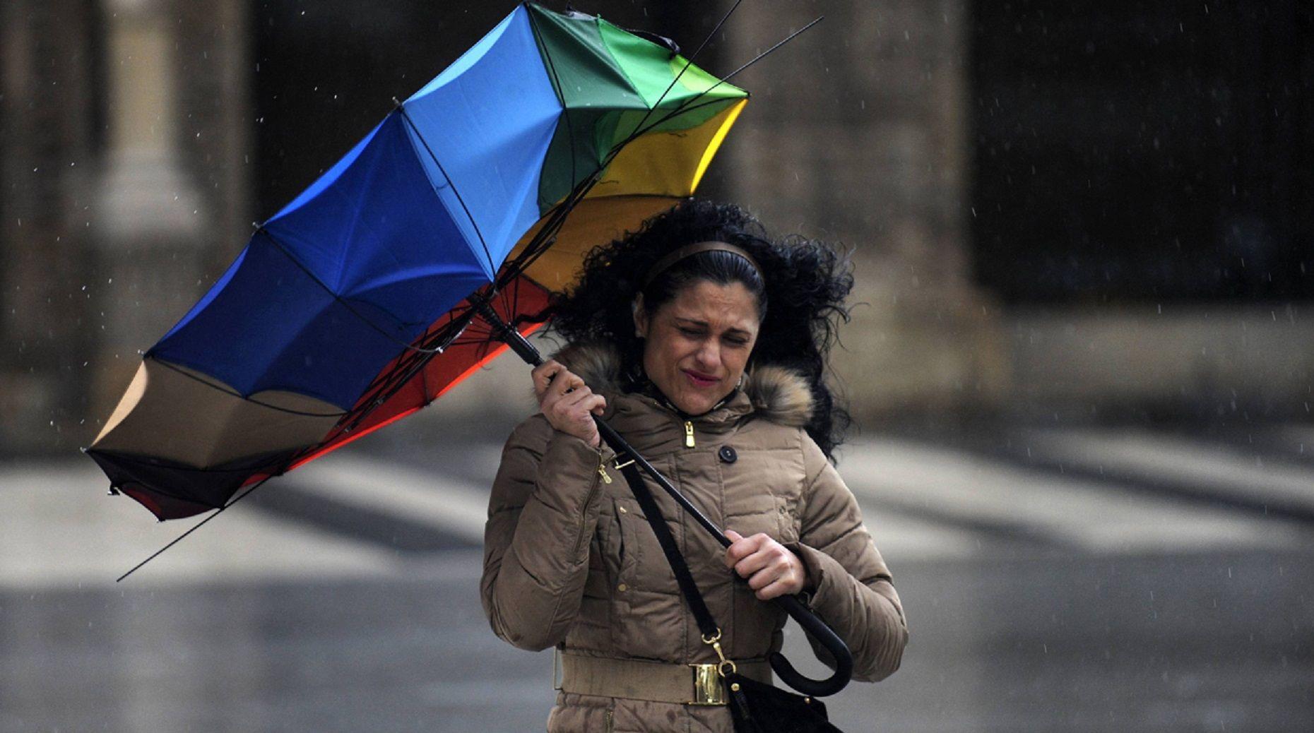 Vientos fuertes en la provincia y la Ciudad de Buenos Aires. Imagen de archivo