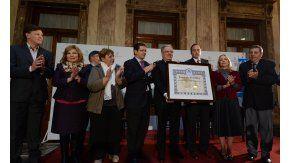 El Senado de la Nación premió a la UBA por su excelencia académica