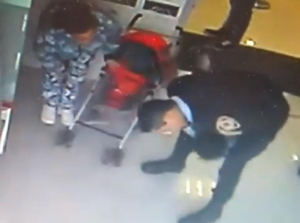 El policía que intervino para salvar a la beba había perdido a un hijo: Es una señal