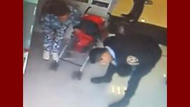 El policía que intervino para salvar a la beba había perdido a un hijo: Es una señal, dijo