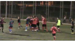 El partido entre entre Atlétic Prat y el Sant Joan Despí terminó con incidentes.