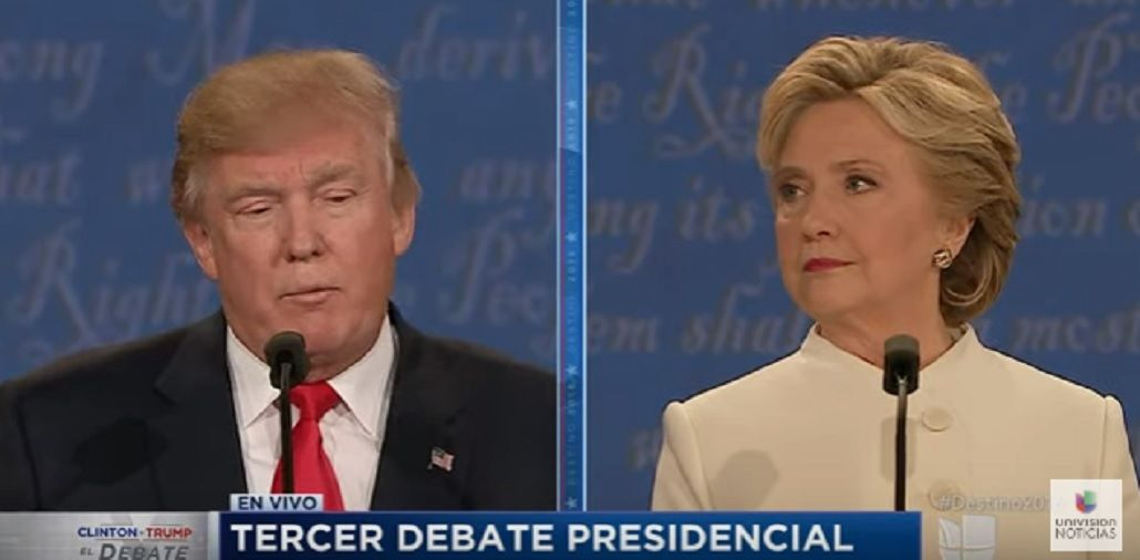 Donald Trump se negó a confirmar que aceptará su derrota si gana Hillary Clinton