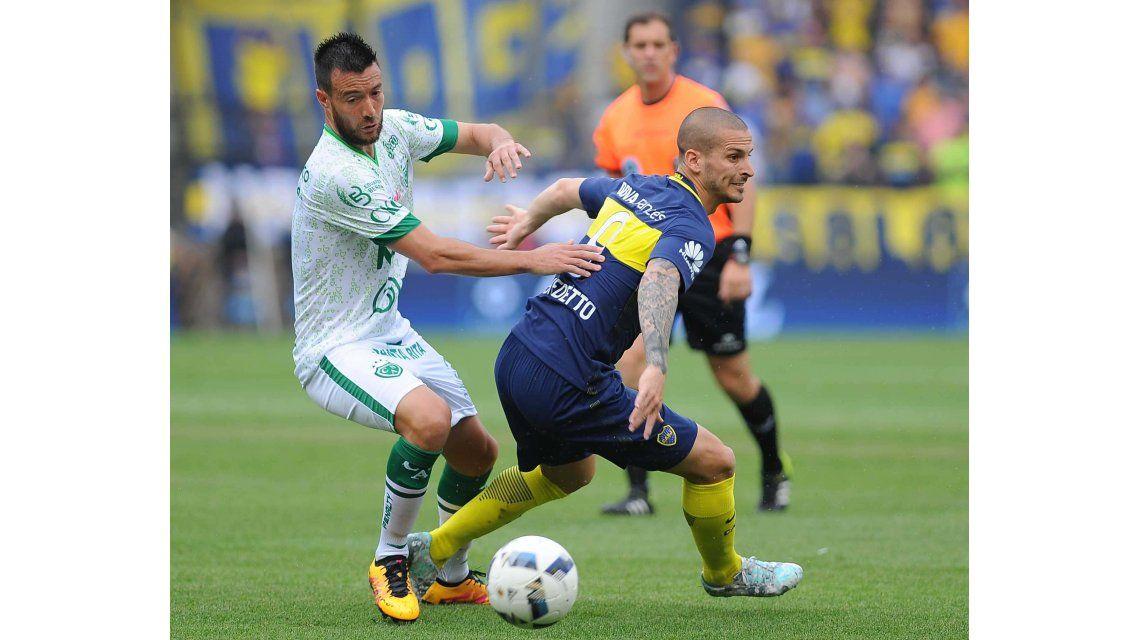Darío Benedetto sufrió un esguince de  rodilla derecho.