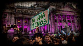 #NiUnaMenos, la primera marcha se realizó el 3 de junio del 2015.