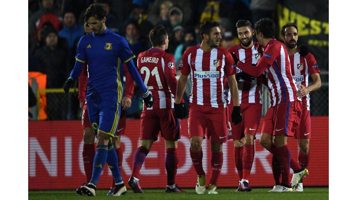 El Atlético Madrid enfrenta al Rostov de Rusia