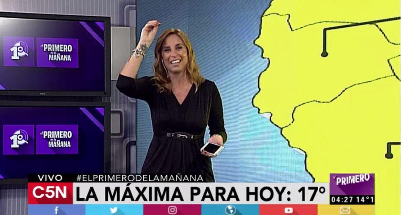 Pronóstico del tiempo para toda la Argentina en C5N
