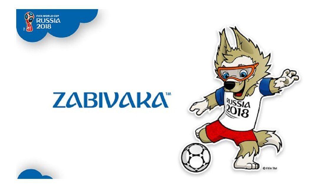 La mascota oficial de Rusia 2018 será un lobo llamado Zabivaka