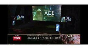 Obituario en los Premios ACE 2016