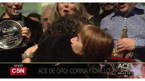 Corina Fiorillo, ganadora del premio ACE de oro 2016