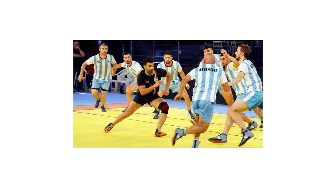 Argentina disputa el Mundial de kabaddi en India
