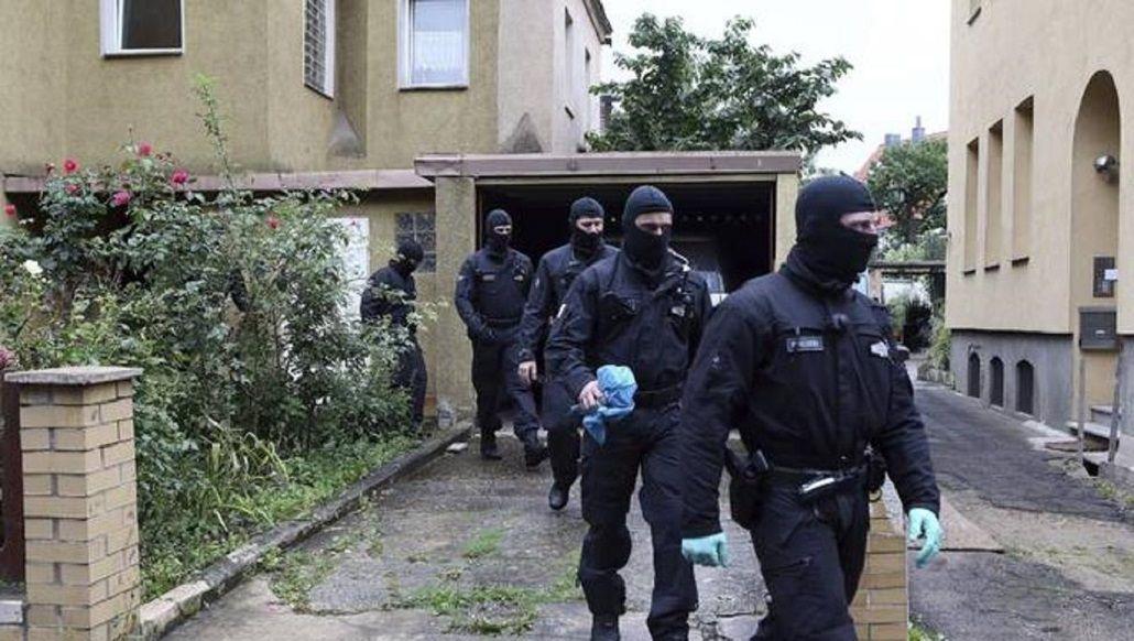 Cuatro policías resultaron heridos por el brutal ataque  en Georgensgmünd.
