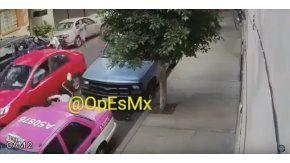 Un hombre atropelló a varias personas en México