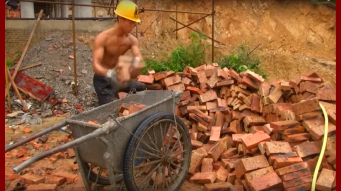 Abdominales de cemento el alba il chino que hace crossfit en el trabajo china - Trabajo albanil sevilla ...