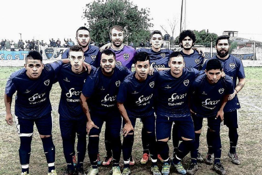 La formación del club Libertad de Córdoba.