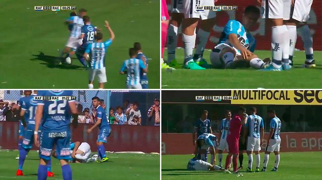 Grimi estará entre seis y ochos sin jugar tras la lesión que sufrió ante Rafaela.
