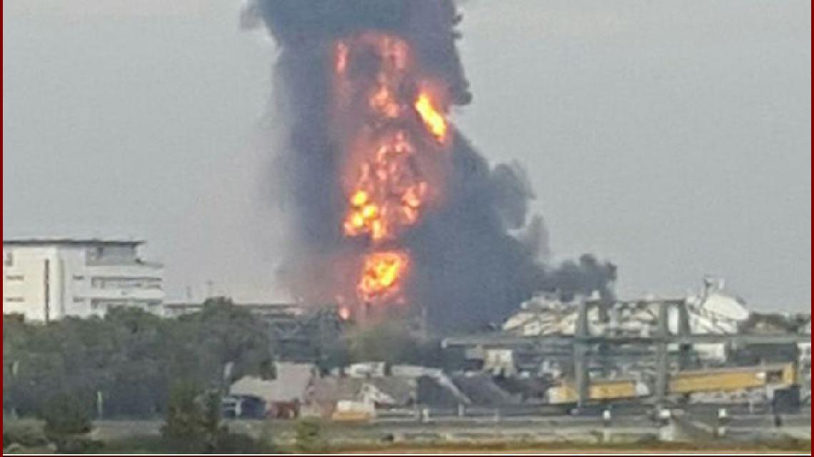 Explosión en Basf