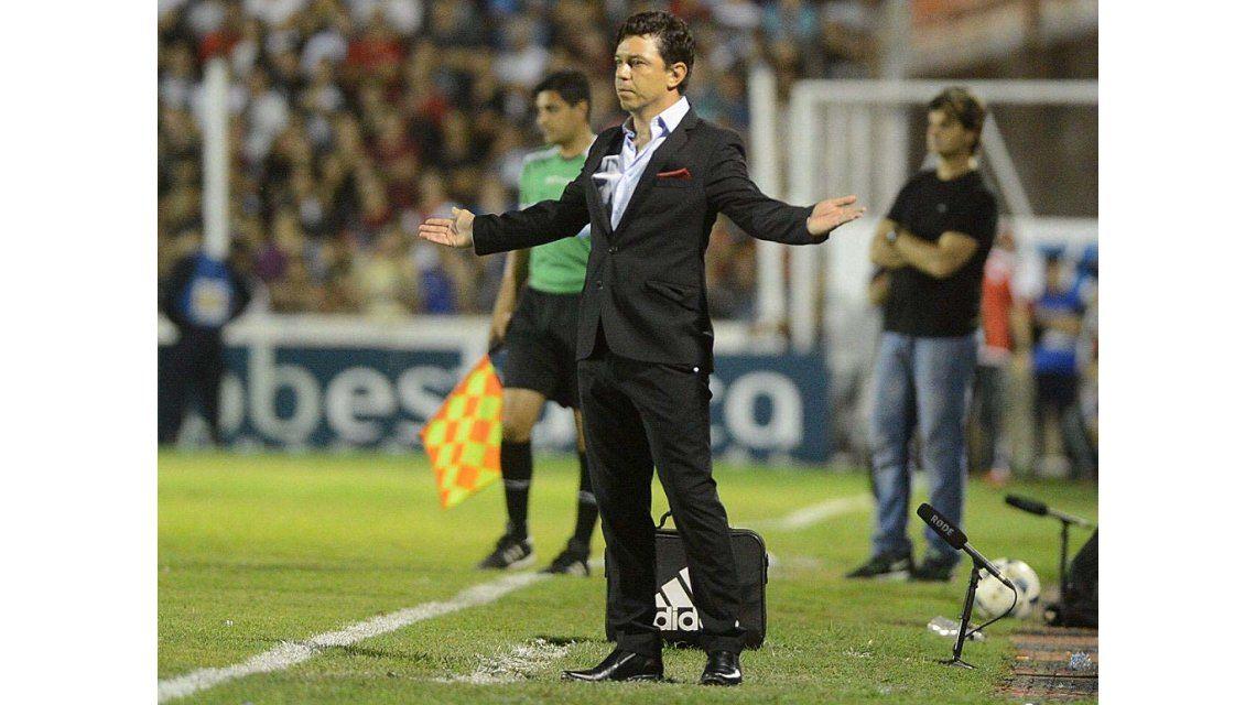 Gallardo analizó la derrota de River ante Patronato