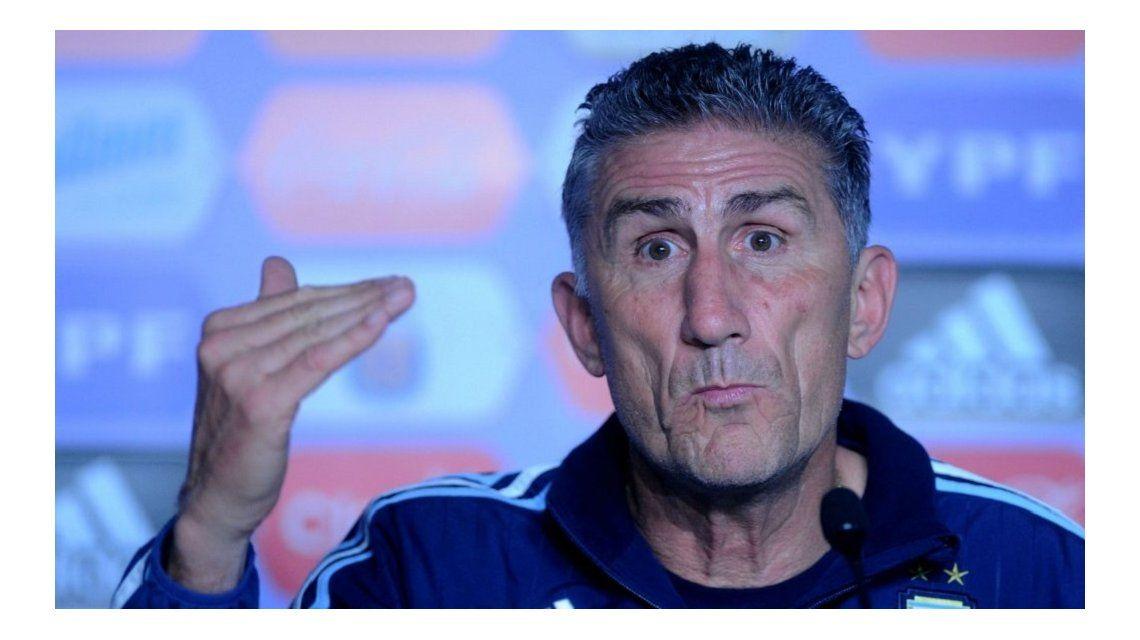 El entrenador del seleccionado argentino