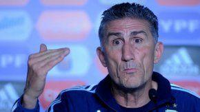 El entrenador del seleccionado argentino, Edgardo Bauza