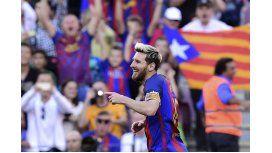 El gol de Lionel Messi en su regreso.