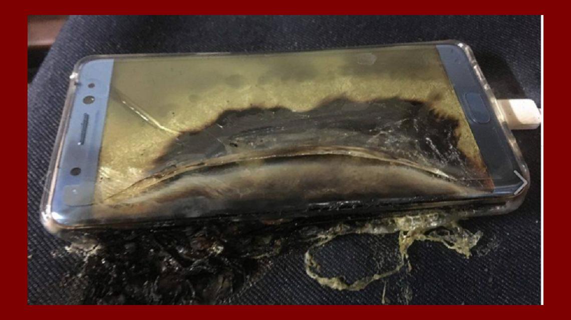 Samsung revela por qué explotaron los Note 7