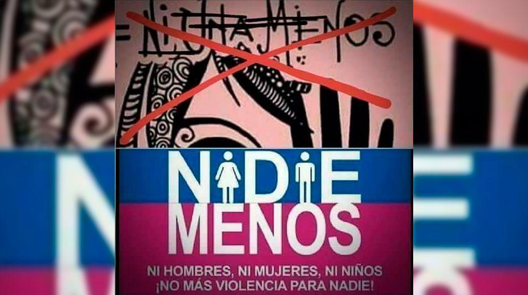 {altText(El cartel de #NadieMenos<br>,#NiUnaMenos vs #NadieMenos: la convocatoria que quieren tergiversar)}