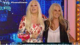 Susana Giménez y Mecha, juntas.