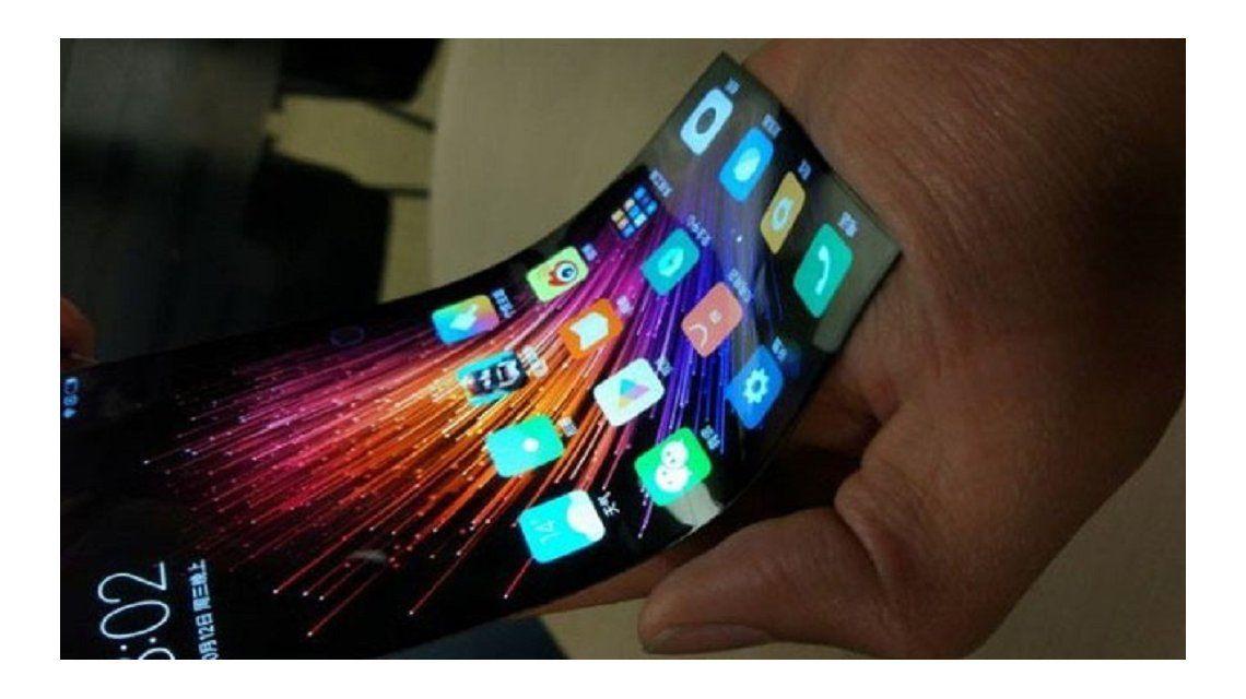 Se filtró un video de un celular con pantalla flexible de Xiaomi